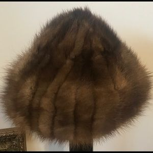 🔥GENUINE MINK HAT !!!